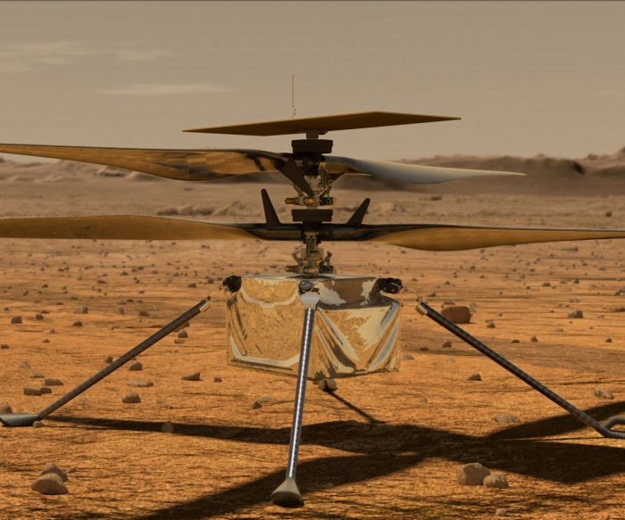 Mars helicopter Ingenuity approaches 14th flight