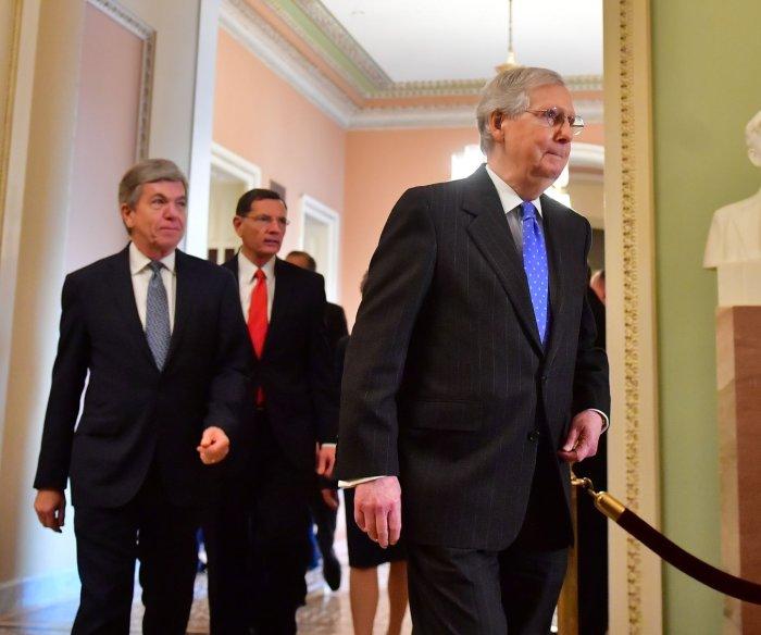 Senate Republicans block funds for Homeland Security Dept., border agents