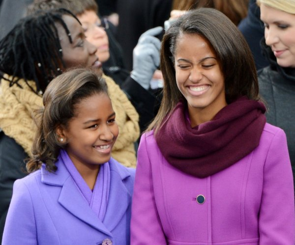 Sasha and Malia through the years