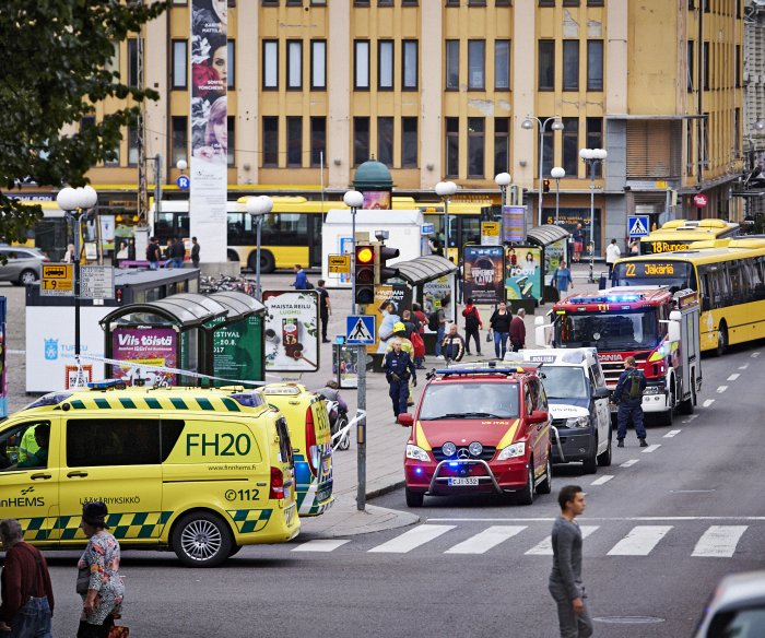 Police in Finland classify fatal stabbings as act of terrorism