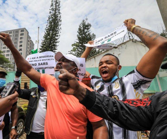 U.N.'s Guterres condemns Nigerian protest violence