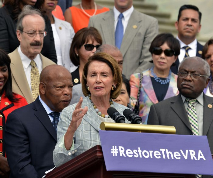 Congress commemorates 50th anniversary of Voting Rights Act