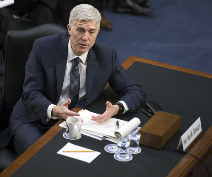 Democrats delay votes on SCOTUS nominee Neil Gorsuch