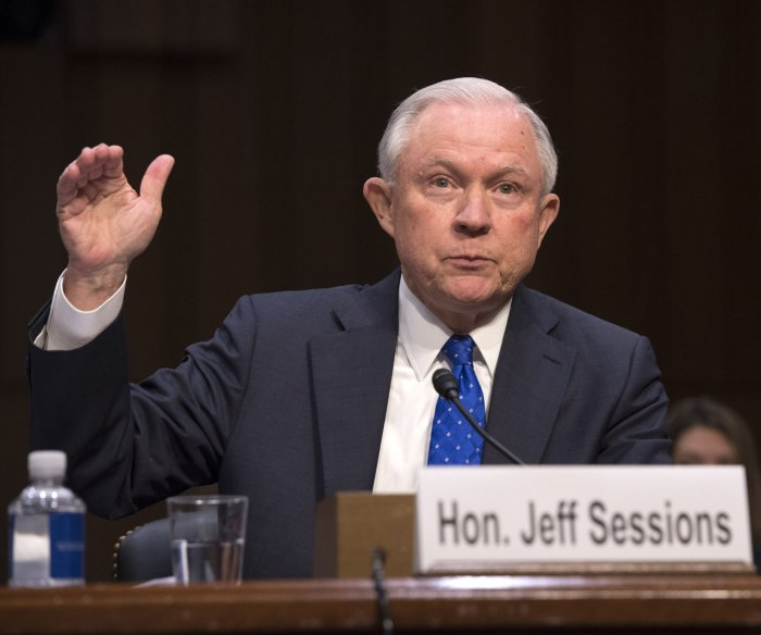 Sessions refuses to tell Senate panel of Trump talks about Comey