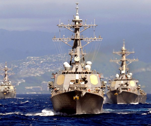 China rebukes U.S. for alleged close naval encounter