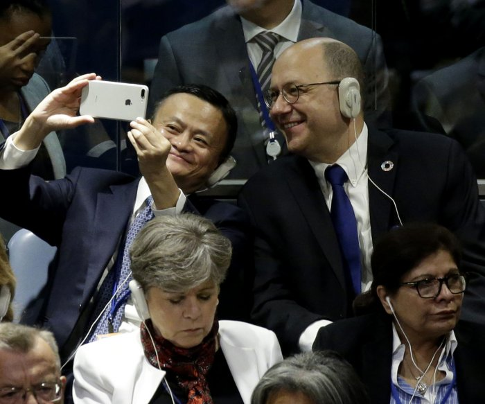 Alibaba's Jack Ma proposes dorms after photo of 'Ice Boy' goes viral