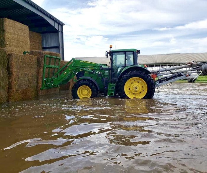South Dakota farmers reeling from year's second record flood