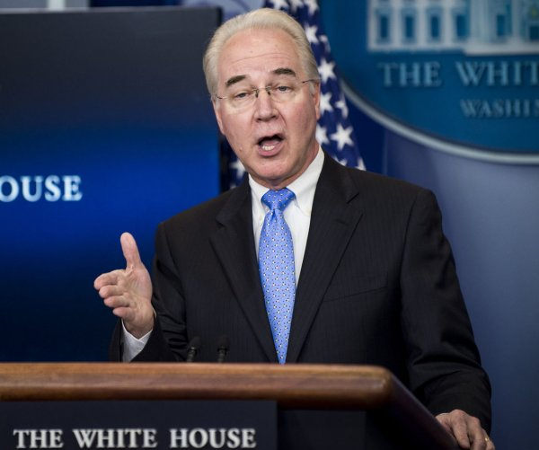HHS' Price halts use of private jets during investigation