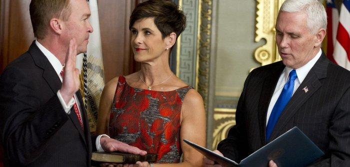 Trump's Cabinet members sworn in