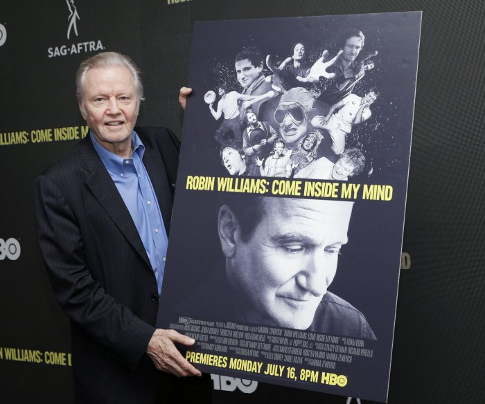 Jon Voight, Lewis Black attend 'Robin Williams' premiere in NYC