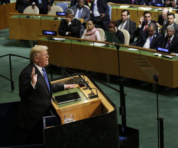 Trump at U.N.: U.S. is ready to 'destroy North Korea'
