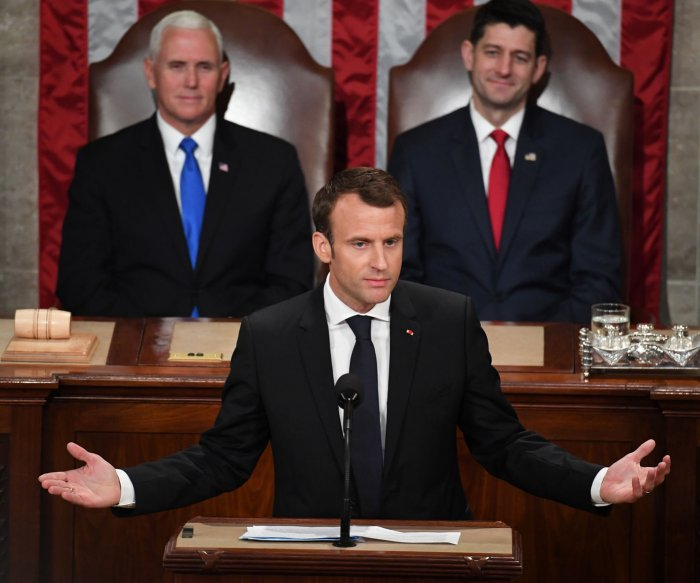 French President Emmanuel Macron's state visit to Washington