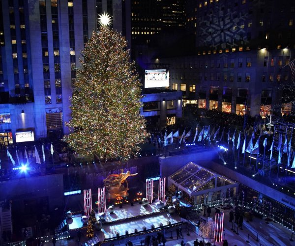 2019 Rockefeller Christmas tree lighting