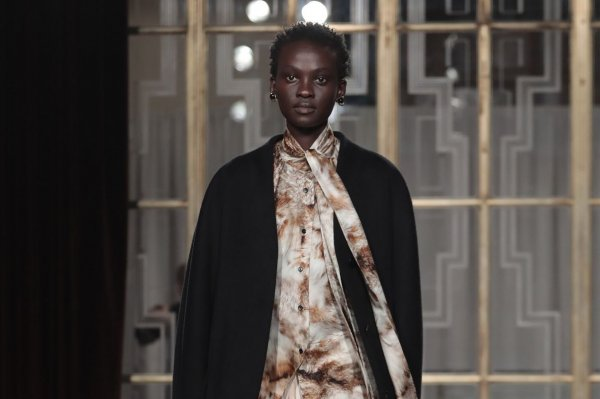 Petar Petrov unveils collection at London Fashion Week