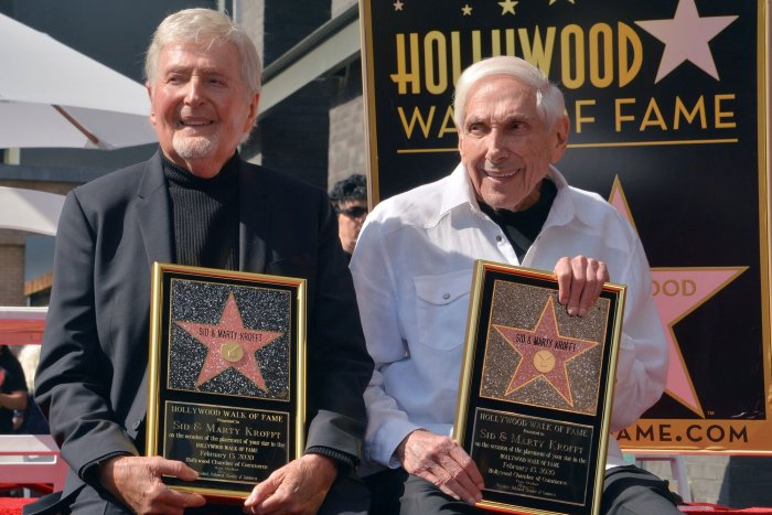 Sid and Marty Krofft receive star on Hollywood Walk of Fame in LA