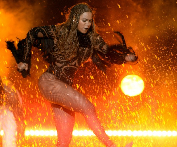 On stage performances at the 2016 BET Awards in Los Angeles