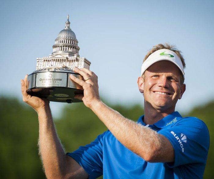 Billy Hurley III wins the 2016 Quicken Loans National golf tournament