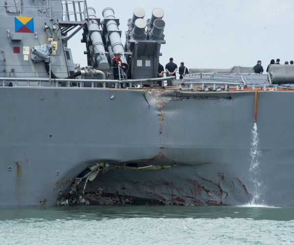 Navy finds some sailors' remains in flooded USS John S. McCain