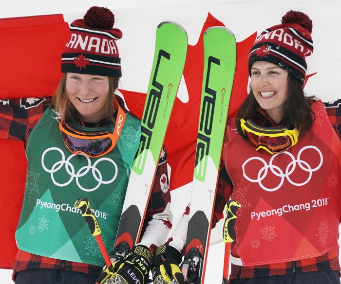 Canada's Serwa wins gold in women's ski cross at Pyeongchang Olympics