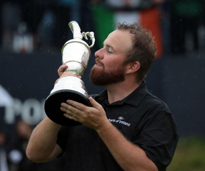 British Open: Shane Lowry wins first career major at Royal Portrush