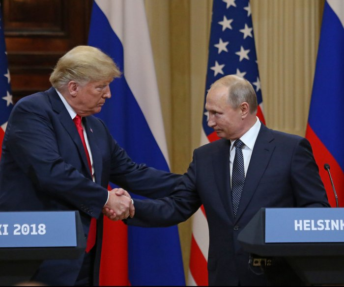 Trump: 'I don't see any reason why' Russia would interfere