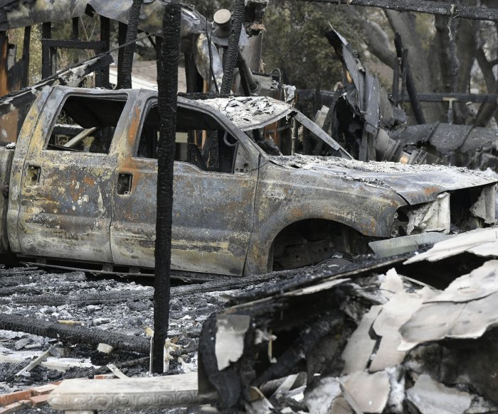 Death toll from California wildfires rises to 50; crews gain control