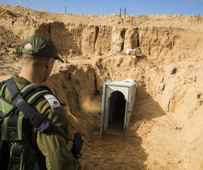 Israel reveals plans for 40-mile underground wall around Gaza