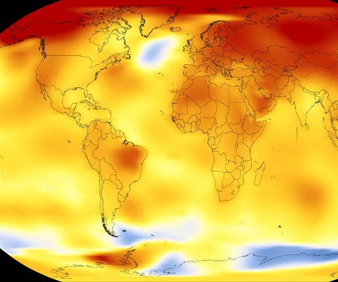 NASA: 2017 was second warmest year since 1880