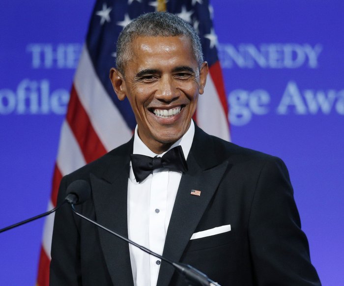 Barack Obama visits Prince Harry at Kensington Palace