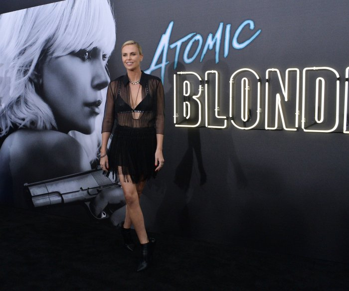 'Atomic Blonde' premiere in Los Angeles