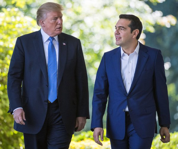 Trump supports 'responsible debt relief plan' for Greece