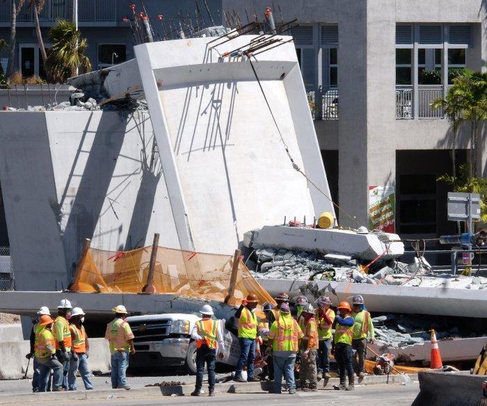 OSHA: $86K fine for contractors of Miami bridge that collapsed, killed 6 people