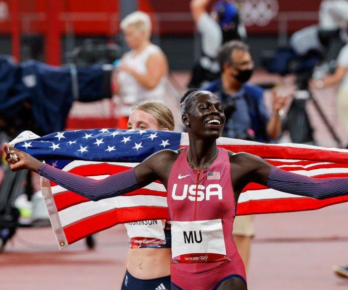 USA's Mu, Mensah-Stock, Biles lead historic 9-medal day in Tokyo