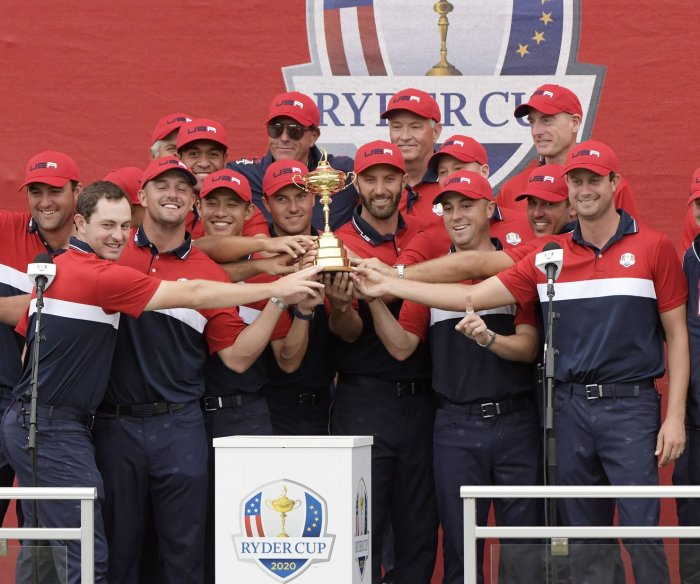 Ryder Cup golf: USA dominates Europe to claim title