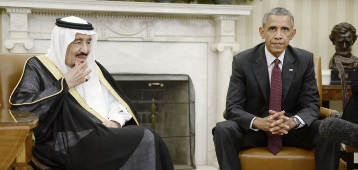 Saudi King at White House for talks with Obama