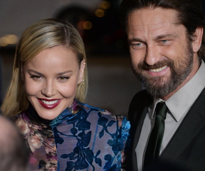 Jim Sturgess, Abbie Cornish attend 'Geostorm' premiere in Los Angeles