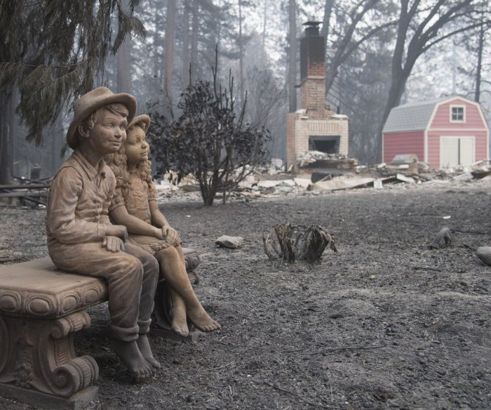 California wildfires: 66 dead, more than 600 missing