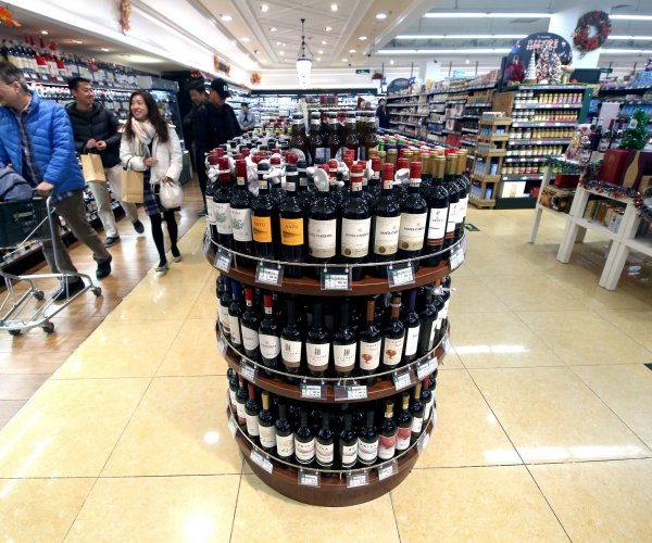 China slaps stiff tariffs on Australian wine as tensions rise