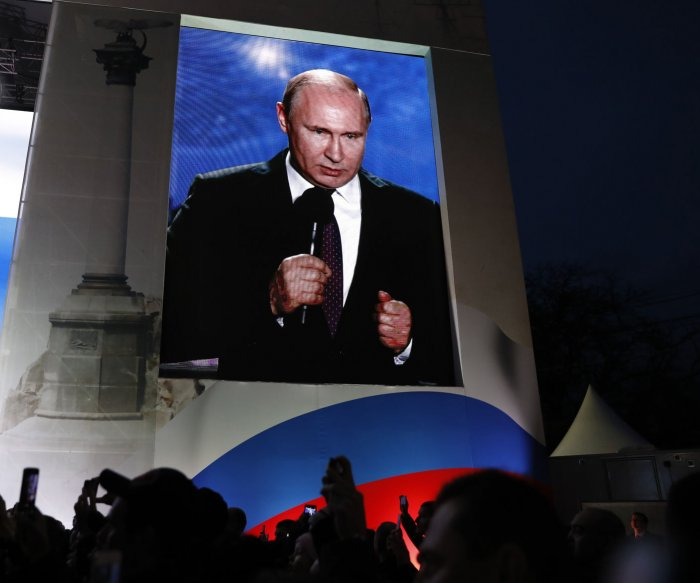 Vladimir Putin's certain triumph heralds fresh uncertainty