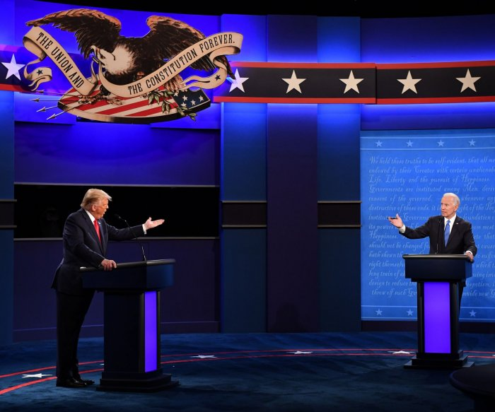 Trump, Biden talk COVID-19, election security, healthcare in last debate
