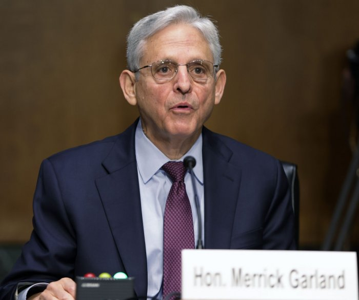 AG Garland defends memo on school board meeting threats