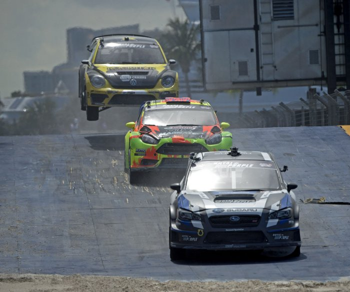 The Red Bull Global Rallycross in Fort Lauderdale