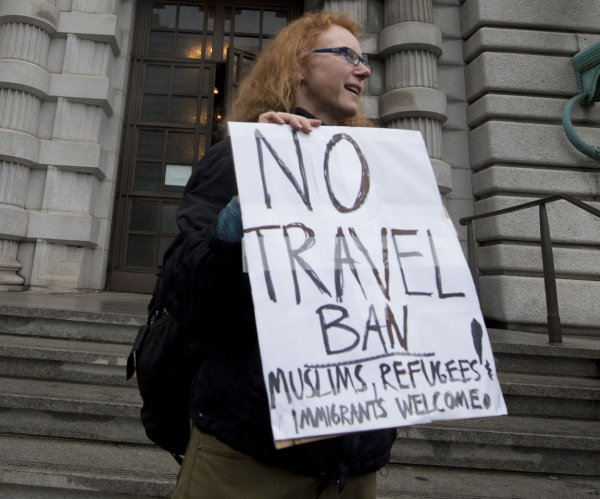 Appeals court upholds block on Trump's revised travel ban