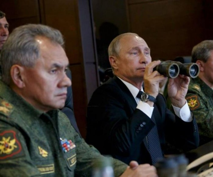 NATO leader: Russian drills appear to prep for 'big war'