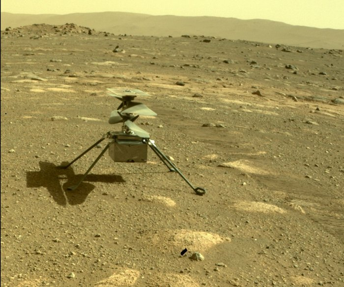 Ingenuity: NASA confirms historic success on first Mars helicopter flight