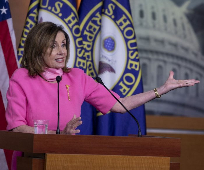 Pelosi asks for full ID of all police, forces responding to D.C. protests