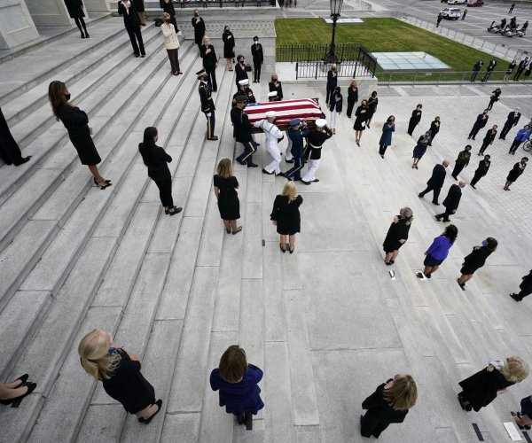 Mourning Supreme Court Justice Ruth Bader Ginsburg