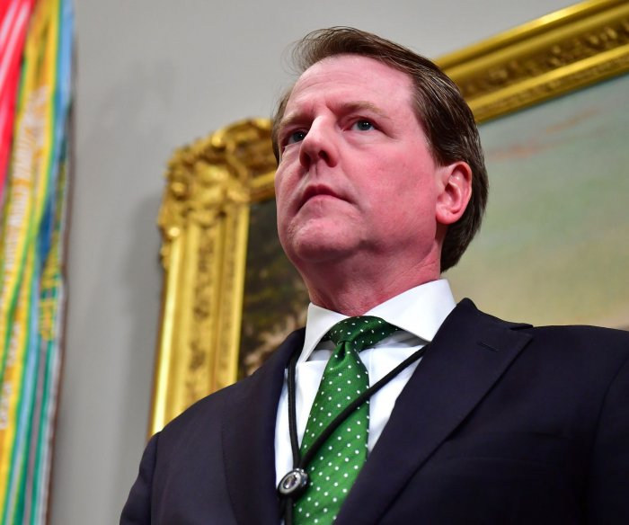Report: Trump counsel McGahn 'cooperated extensively' in probe