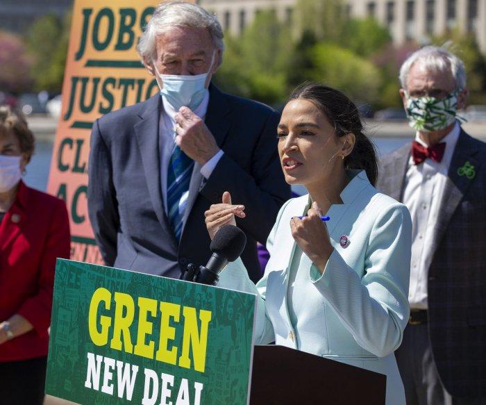 Progressive Democrats reintroduce the Green New Deal