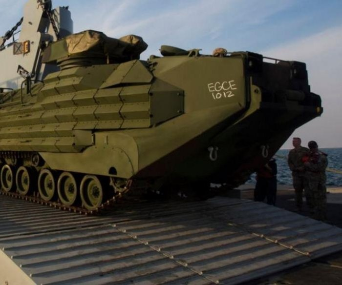 Remains of 8 service members recovered from sunken amphibious vehicle